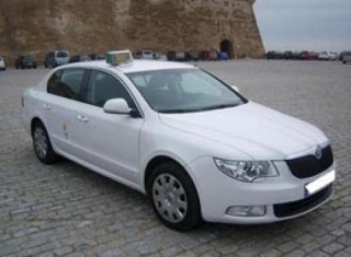 Taxis Borras Skoda Superb