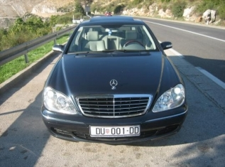 Taxi and Transportation Service Dubrovnik Mercedes Benz Clase S