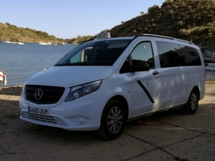 Taxis Estarriol - Mercedes Vito 9 plazas Figueres