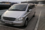 Taxi and Transportation Service Dubrovnik Mercedes Benz Viano